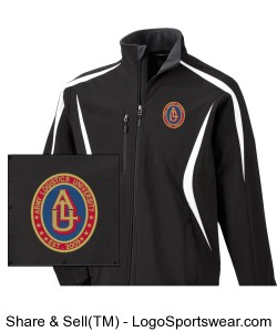 Embroidered Design: Mens North End Color-Block Soft Shell Jacket Design Zoom