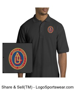 Embroidered Design: Silk Touch Polo Shirt Design Zoom
